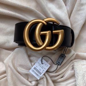 nNew Gucci Belt Áüthéntïć Double G Marmot